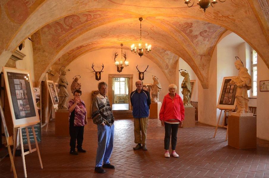 Šluknovský zámek - výstava hlavolamů