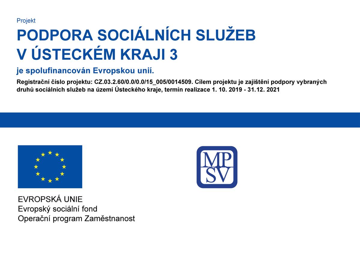 Projekt Podpora sociálních služeb v Ústeckém kraji 3